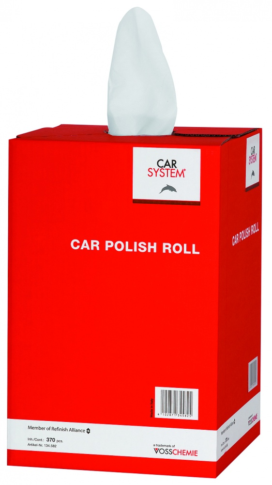 Car Polish Roll - Poliertücher 370 Abrisse